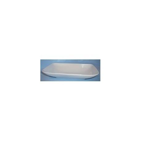 Droguerie lafanechere vente en ligne saladier rectangulaire - Saladier porcelaine blanche ...