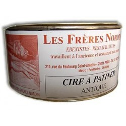 CIRE A PATINER ANTIQUE 250 ml des Frères NORDIN