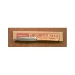 Set couteaux 'office' n°112 naturel OPINEL