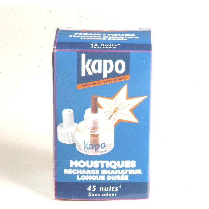 Droguerie en ligne lafanechere recharge liquide longue duree anti moustiques pour diffuseur kapo - Produit anti araignee longue duree ...