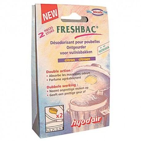DESODORISANT POUBELLE FRESHBAC X2
