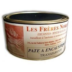 PATE A ENCAUSTIQUER TRANSP. 250 ml des Frères NORDIN