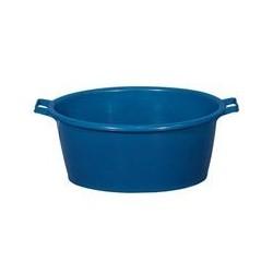 Baquet ovale 45 L bleu ALUMINIUM ET PLASTIQUE