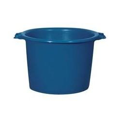 Baquet rond 75 L bleu ALUMINIUM ET PLASTIQUE