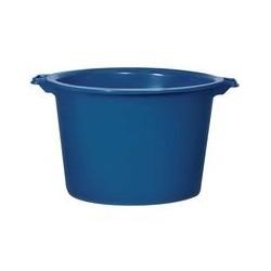 Baquet rond 120 L bleu ALUMINIUM ET PLASTIQUE