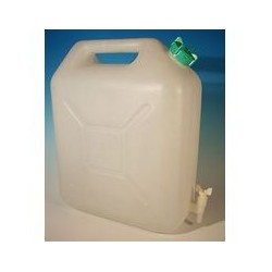 Jerrican 20 L blanc extra fort DAVID