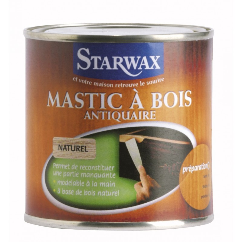 droguerie lafanechere vente en ligne mastic a bois chene rustique 250 gr starwax. Black Bedroom Furniture Sets. Home Design Ideas