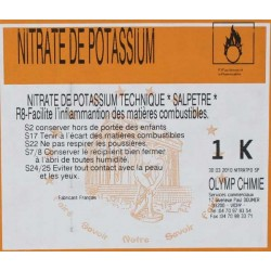 NITRATE DE POTASSIUM (SALPETRE)