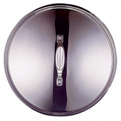 COUVERCLE INOX CHEF D.16CM