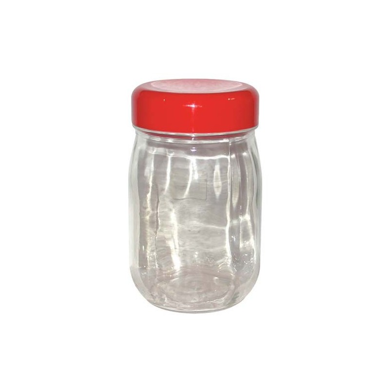 Bocal a vis couvercle plastique 2 l droguerie lafanech re for Bocal poisson plastique