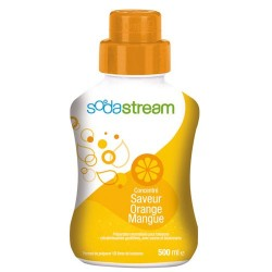 SIROP CONCENTRE 500ML ORANGE MANGUE
