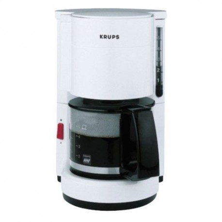 CAFETIERE KRUPS AROMA 7 TASSES BLANCHE