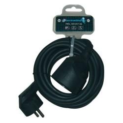 Prolongateur 3g1.5mm2 noir 3m 20848042