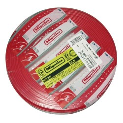 Cable h07vu 2.5 100m rouge 1010102ba