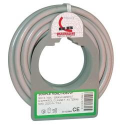 Cable h05vvf 3x1.5 5m gris bobinot