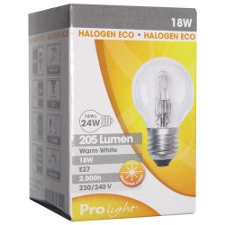 Amp.sph hal.eco e27 18w bte prolight