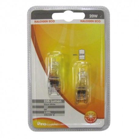 Amp.bipin hal.eco 20w g9 bl2 prolight