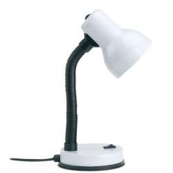 Lampe de bureau recky e27 blanc