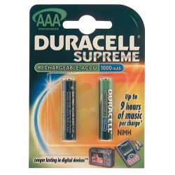 Accus hr03 aaa supreme bl2 duracell