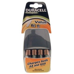 Chargeur cef14+4 aa duracell