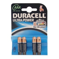 Pile r03 ultra bl4 mx2400 duracell