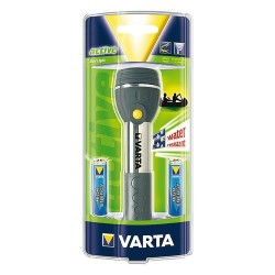 Torche varta day light 2xlr6 bl