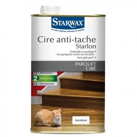 CIRE ANTI-TACHE STARLON BOIS CLAIRS 1 L