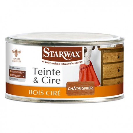 TEINTE & CIRE PATE NOYER 375ML