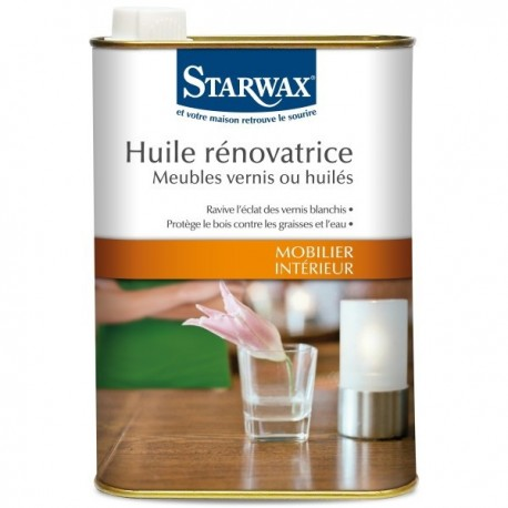 droguerie lafanechere vente en ligne huile renovatrice bois vernis 500ml starwax. Black Bedroom Furniture Sets. Home Design Ideas
