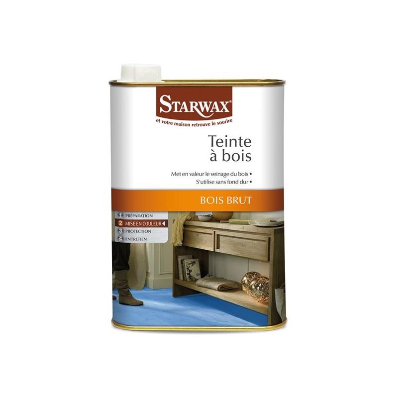 droguerie lafanechere vente en ligne teinte ton bois phase aqueuse chene fonce 500 ml starwax. Black Bedroom Furniture Sets. Home Design Ideas