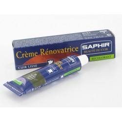 RECOLORANT CREME RENOVATRICE CUIR AVEL SAPHIR TUBE 25ML BLANC