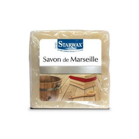 SAVON DE MARSEILLE NATUREL CUBE 300G