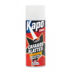 AEROSOL BLACK BLATTES / CAFARDS  400ML KAPO