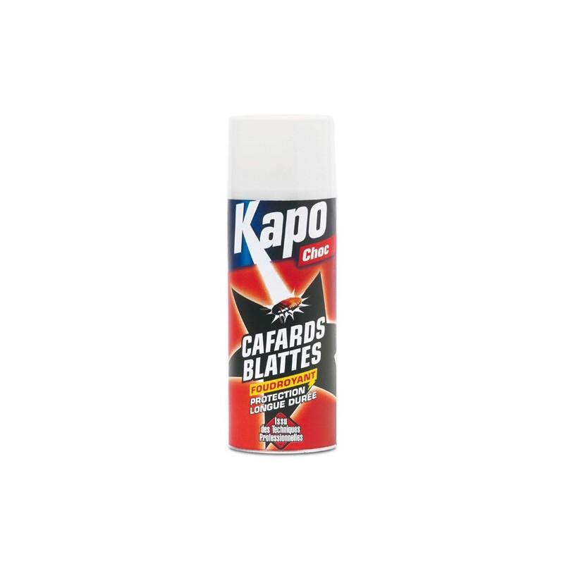 droguerie en ligne lafanechere aerosol black blattes cafards 400ml kapo. Black Bedroom Furniture Sets. Home Design Ideas