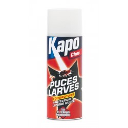 AEROSOL BLACK PUCES ET LARVES 400ML KAPO