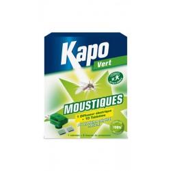 DIFFUSEUR ANTI MOUSTIQUES + 10 TABLETTES 100% VEGETAL KAPO
