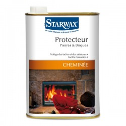 PROTECTEUR PIERRES BRIQUES CHEMINEES 500ML STARWAX