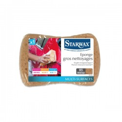 EPONGE SYNTHETIQUE TOUS NETTOYAGES STARWAX