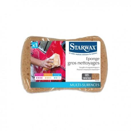 EPONGE SYNTHETIQUE TOUS NETTOYAGES STARWAX