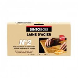 """LAINE D'ACIER N°2 """" 150G SINTOBOIS"""