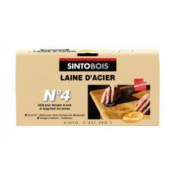 LAINE D'ACIER N°4 150G SINTOBOIS