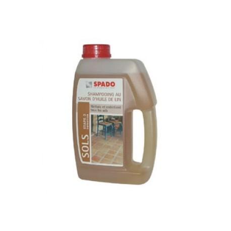 Nettoyant sol huile de lin 1l spado droguerie lafanech re - Huile de lin tomettes ...