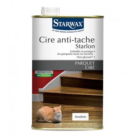 CIRE ANTI-TACHE STARLON BOIS FONCES 1 L
