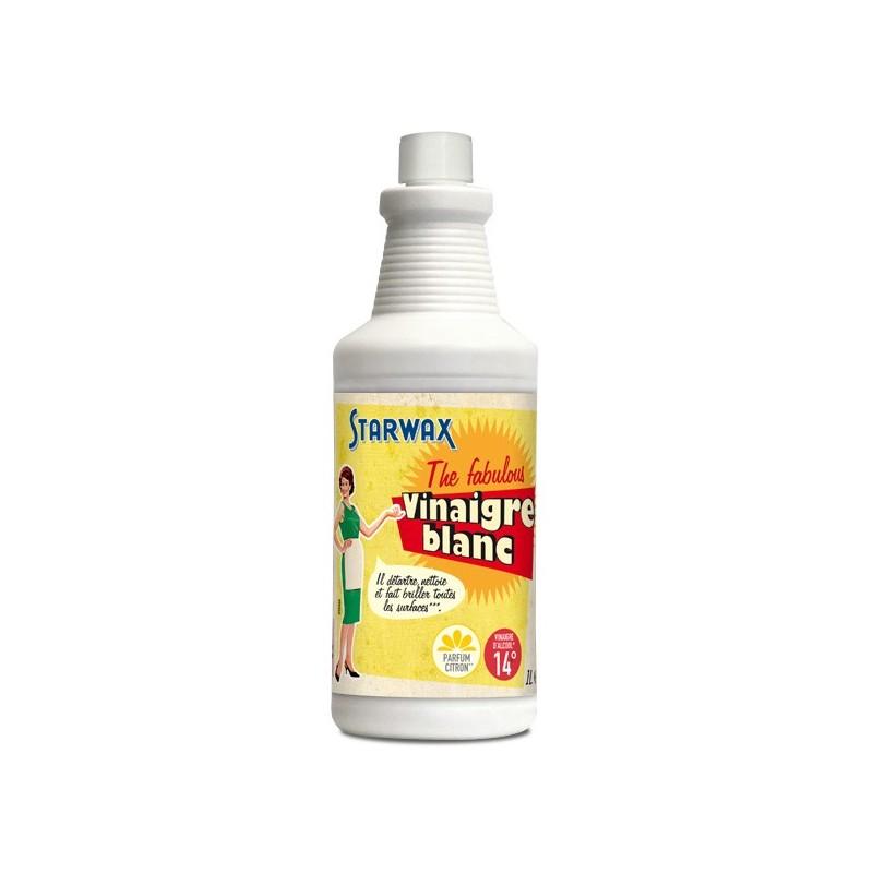 Vinaigre blanc citron 1l starwax the fabulous droguerie lafanech re - Vinaigre blanc lave linge dosage ...