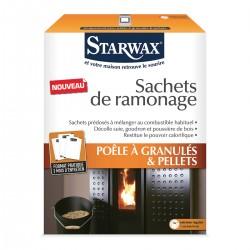 SACHETS DE RAMONAGE POUR POELE A GRANULES & PELLETS 3X40G