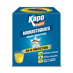 MOUSTIQUES BOUGIE INSECTICIDE KAPO 125G