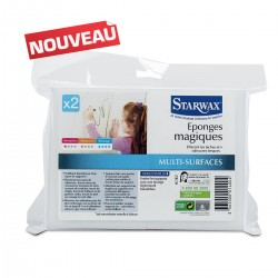 2 EPONGES MAGIQUES STARWAX