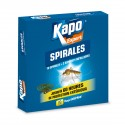 SPIRALES ANTI-MOUSTIQUES INCASSABLES KAPO X10