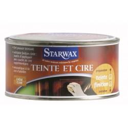 TEINTE & CIRE PATE MERISIER BLOND 375ML STARWAX