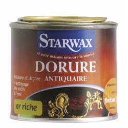DORURE ANTIQUAIRE PHASE AQUEUSE OR PALE 125 ML STARWAX
